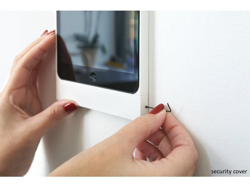 basalte eve wandhalterung ipad pro 12 9 diebstahlsicher rund silber. Black Bedroom Furniture Sets. Home Design Ideas