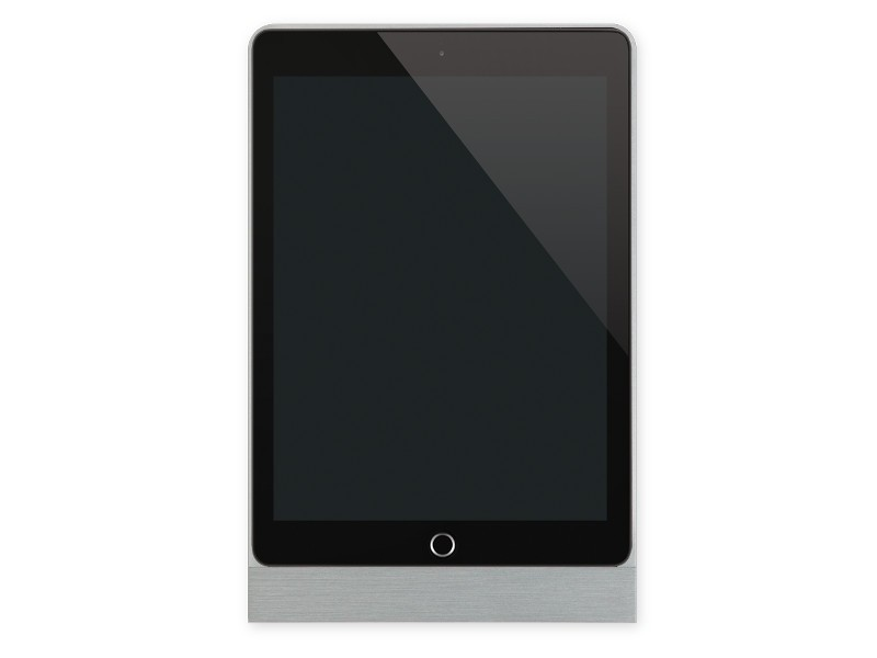 basalte eve tablet wandhalterung ipad pro 9 7 eckig silber. Black Bedroom Furniture Sets. Home Design Ideas