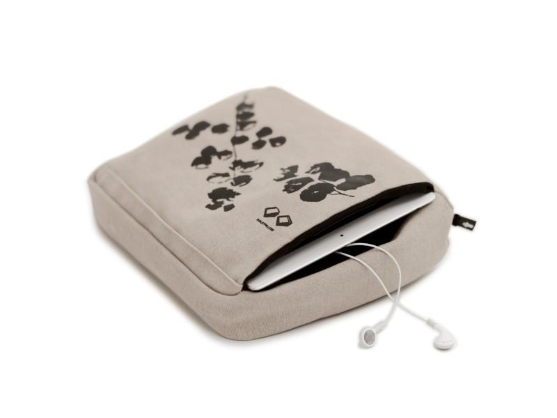 bosign multifunktions tablet kissen beige schwarz. Black Bedroom Furniture Sets. Home Design Ideas