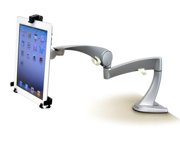ergotron universal tablet halterung f r vesa 80 106 085. Black Bedroom Furniture Sets. Home Design Ideas