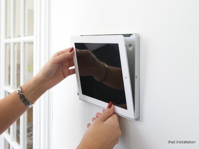 Basalte Eve Tablet Wandhalterung Ipad Pro 10 5 Rund Schwarz