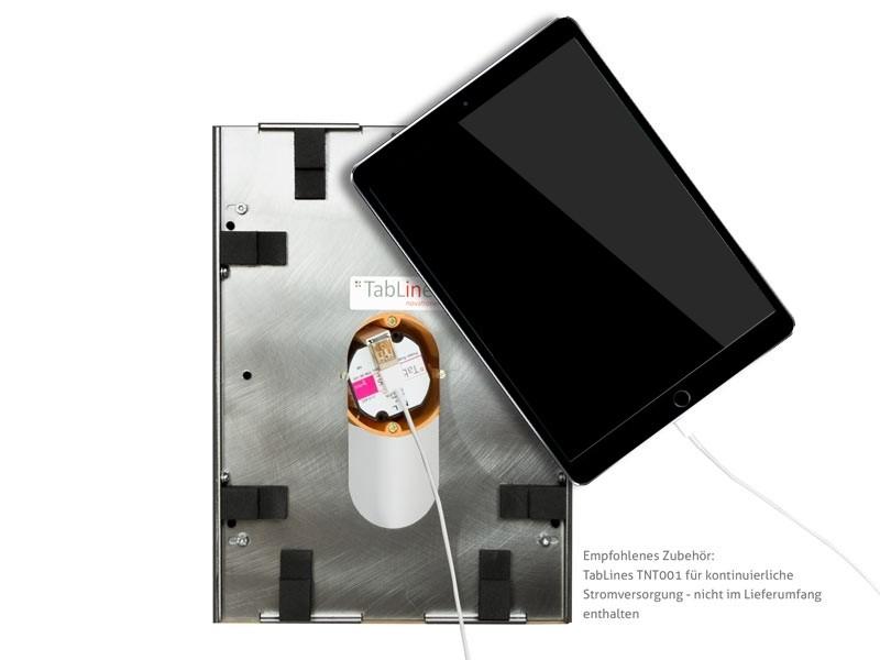 tablines twe063w tablet wandeinbau apple ipad 9 7 2018. Black Bedroom Furniture Sets. Home Design Ideas