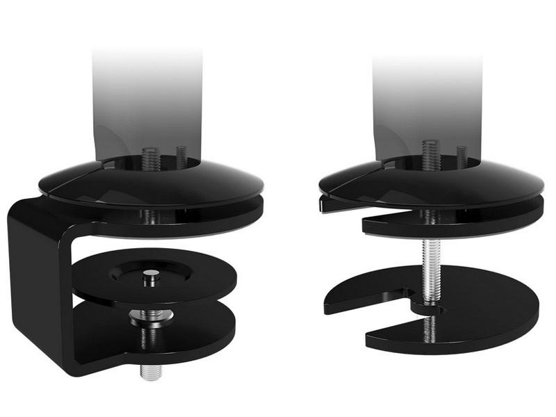monitorarm schreibtisch. Black Bedroom Furniture Sets. Home Design Ideas